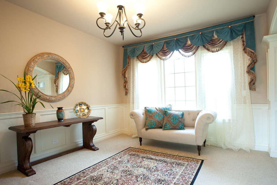 Valances and Curtains - Elegant Swags and Jabots, Pelments, Fancy ...